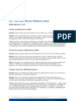 2NR SIM Star Server Release Notes