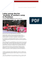 Labor Group Decries 'Strafing' of Workers Camp in Pantukan _ Davao Today