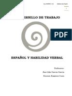 Cuadernillo de Trabajo - Español