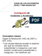 Accidentes e Incidentes