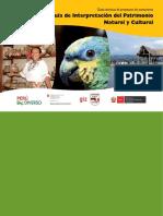 Guía de Interpretación Del Patrimonio Natural y Cultural