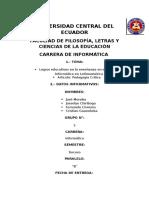 Trabajo Escrito Logros Educativos 07-07-2016