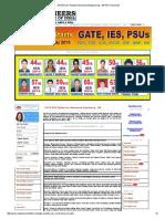 GATE Exam Syllabus Mechanical Engineering - ME PDF Download