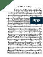 Himno Galicia Piano y Coro
