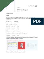 6081-Parts Notice 135 Connector for Sensor Cones