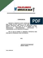 Certificado d Etdwrabajo