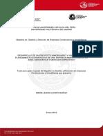 Alfaro Munoz Maria Desarrollo Mercado