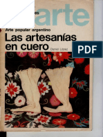 Las Artesanias en Cuero