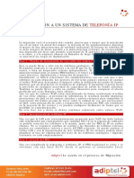 Adiptel Migracion Telefonia IP