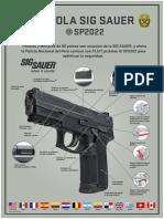 Características Pistolas Sig Sauer