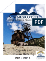 2013-2014 Program and Course Catalog Final
