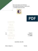 Historia Geológica de Venezuela