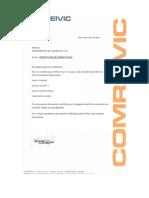 Certificado de Operatividad Maquina de Figueroa