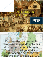 La Edad Media en Europa