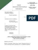 Harrell v. United States, 10th Cir. (2006)