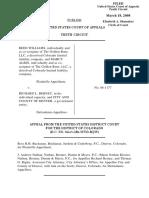 Williams v. Berney, 519 F.3d 1216, 10th Cir. (2008)