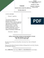 Becker v. Ute Indian Tribe of the Uintah, 10th Cir. (2014)