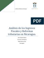 Análisis de Los Ingresos Fiscales y Reformas Tributarias en Nicaragua