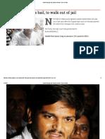Hardik Patel Gets Bail
