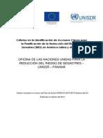 Criterios en la Identificación de Acciones Claves para la Planificación de la Reducción del Riesgo de Desastres (RRD) en América Latina y el Caribe