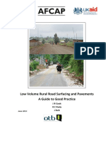 AFCAP GEN 099 Rural Road Surfacing and Pavements Guideline