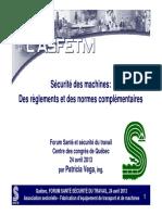 Securite Des Machines 1304