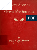 Love Stories of Great Missionaries - Belle M Brain