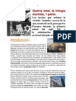 Guerra Total, La Trilogia Sionista, 1 Parte.