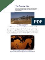 Greek Myths - The Nemean Lion