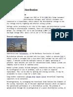 Electric Power Distribution - Primary Distribution