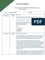 Email Templates OA - PDF