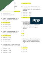 Probabilidad ICFES