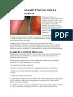 Remedios Naturales Efectivos Para La Celulitis Edematosa
