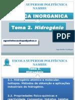 TEMA 2. hidrogenio