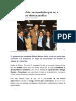 26-02-2016 SDP Noticias - Destaca Puebla como estado que no a aumentado su deuda pública