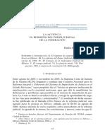 EL REDISEÑO DEL PODER JUDICIAL DE LA FEDERACIÓN