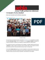 28-02-2016 Sexenio Puebla - Entrega Moreno Valle Primeras Alarmas Vecinales en La Ciudad