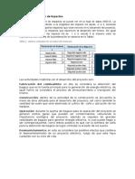 Matriz de Evaluación de Impactos