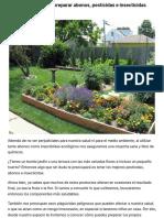Te enseñamos como preparar abonos, pesticidas e insecticidas ecológicos   Diario Ecologia