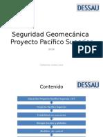 Seguridad Geomecánica Dessau Ingeniería