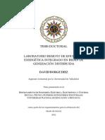 LABORATORIO DE EFICIENCIA ENERGÉTICA INTEGRADO EN REDES DE GENERACIÓN  DISRIBUIDA