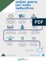 Consejos para ser más productivo por Ismael Plascencia Núñez.
