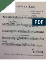 Mambo en Sax Trombones