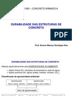 Durabilidade de Estruturas de Concreto