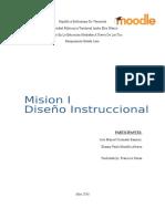 Mision I, Diseño Instruccional
