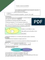 3 Les formules courantes des probabilités