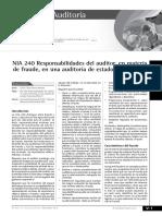 NIA 240 Responsabilidades Del Auditor1