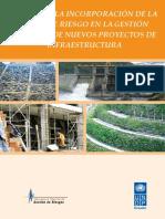 Guía para la incorporación de la variable Riesgos en la Gestión Integral de nuevos proyectos de infraestructura