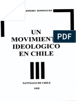 Eliodoro Dominguez - Un Movimiento Ideológico en Chile [1935]