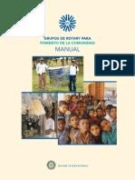 Manual Grupo Fomento Rotario